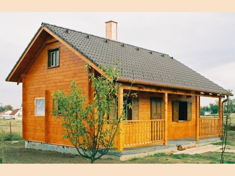 Dřevěné chaty zateplené
